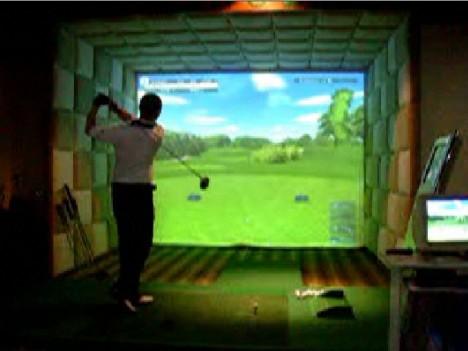 游戏&互动-虚拟高尔夫 室内高尔夫 高尔夫练习场